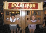 Jeff & Grisel at the Excalibur