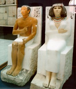 Nofret and Rahotep