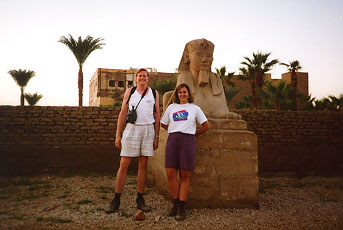 Sphinx at Luxor