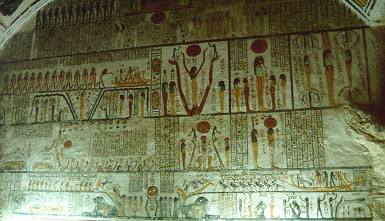 Burial chamber of Ramesses VI