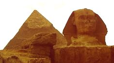 The Sphinx and Khafra's Pyramid