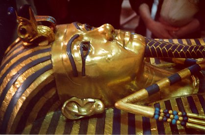 Tutankhamun's second coffin