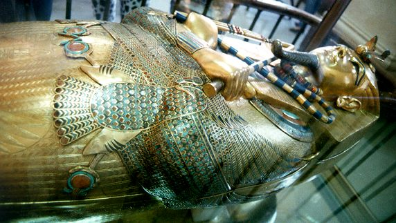 Tutankhamun's third coffin