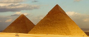 Pyramids of Khufu and Khafra