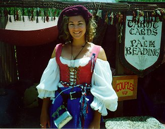 Grisel at the Rennaisance Faire