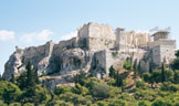The Acropolis as seen from the Aeropagus