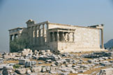 The Erechtheum from the SW