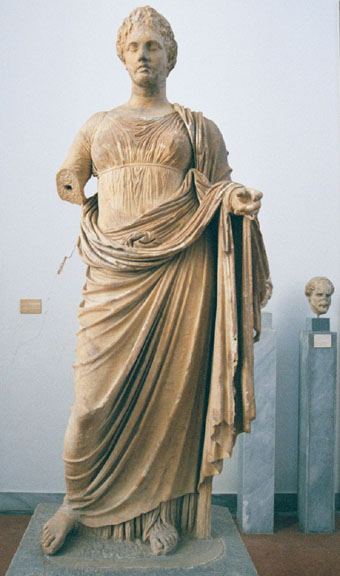 Greek Female Sculpture The National Ar...