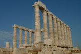 Temple of Poseidon from the SW