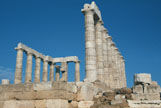 Temple of Poseidon from the west